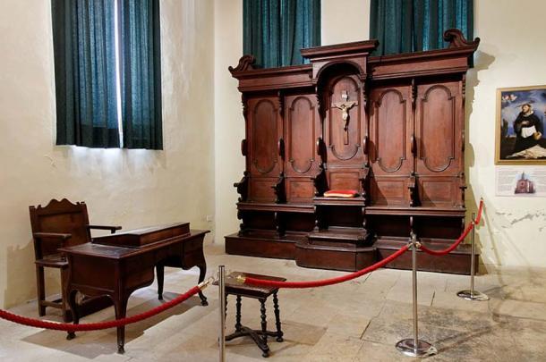 Tribunal, Inquisitor's palace in Vittoriosa (Birgu), Malta. (Marie-Lan Nguyen/CC BY 2.5)
