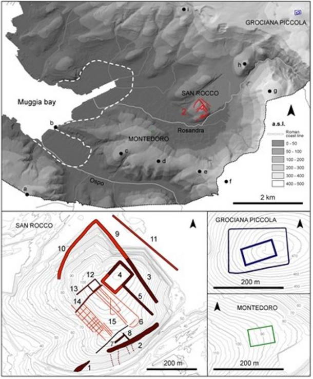 Trieste Origins Unearthed. Digital terrain model of the ancient Roman military sites in Italy.