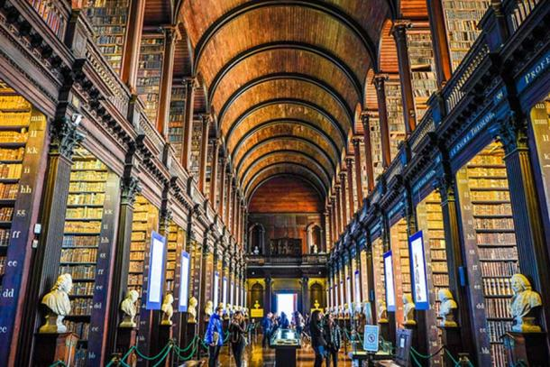 Trinity College in Dublin is the current home of the original Book of Kells.