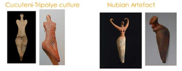 Tripolye and Nubian Figurines. (Author provided)