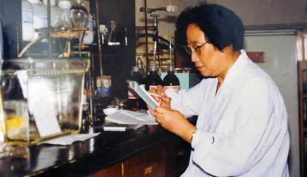 Tu Youyou developed a treatment for malaria after reading traditional Chinese texts