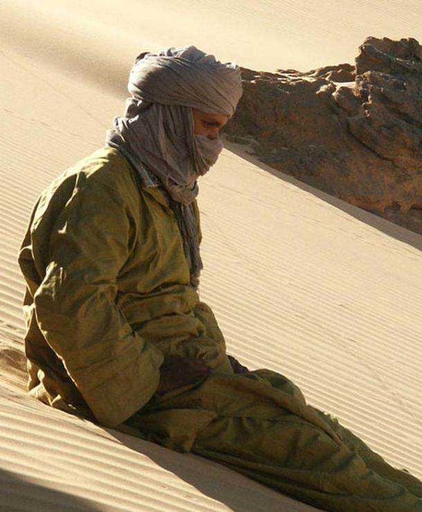 The Tuaregs live in one of the harshest environments in the world