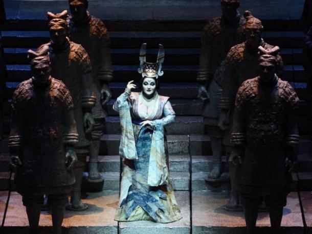 Turandot directed by Roberto De Simone. January 2012, Teatro Comunale Bologna. (Lorenzo Gaudenzi/CC BY SA 3.0)
