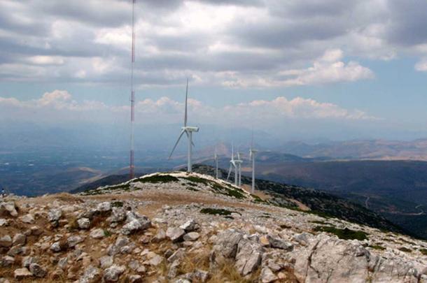 Turbines on Arachnaion.