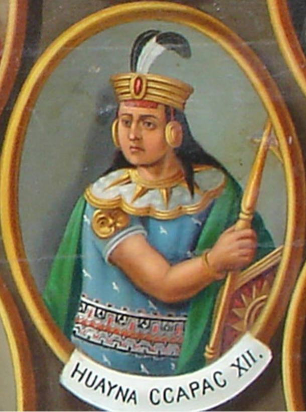 Turmoil struck with Inca ruler Huayna Capac died