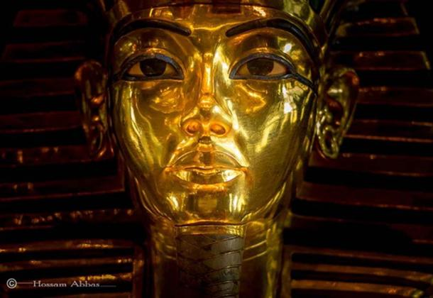 Tutankhamun, whose world famous funerary mask is pictured here, was buried with an astounding hoard of golden treasures that acted as a magnet for tomb robbers within weeks after KV62 was sealed. Thankfully, both breaches were noticed in time, the robbers apprehended and the crypt re-sealed—which preserved the precious objects until 1922. Egyptian Museum, Cairo.