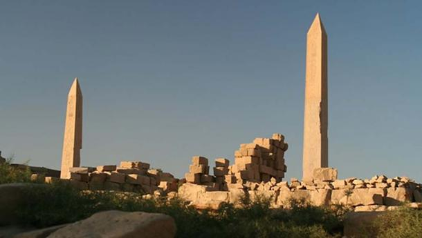 Two obelisks of Karnak.