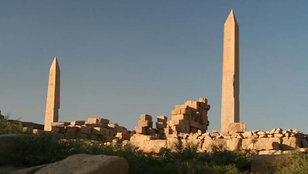 Two obelisks of Karnak.