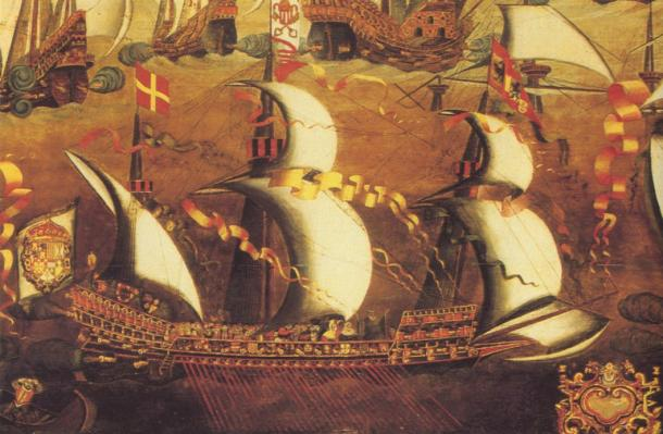 Typical ship of the Spanish Armada