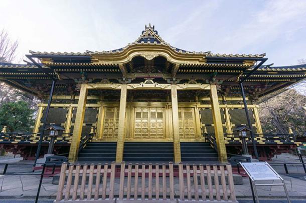 Ueno Tousyougu Japanese Shinto Temple. (Wei-Te Wong/CC BY SA 2.0)