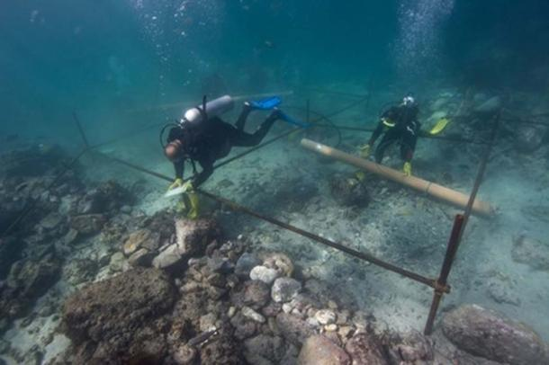 Underwater excavations of the Esmeralda. (Oman's Ministry of Heritage & Culture (MHC) and Blue Water Recoveries Ltd )