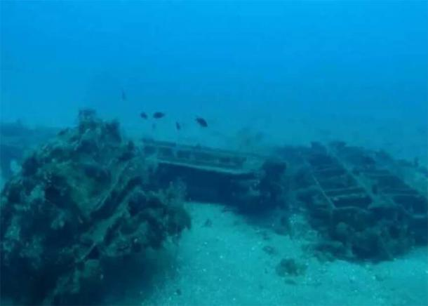 Underwater divers have discovered naval structures, an ancient port and a Roman sea fortress off the coast of Syria at Tartus. (Sevastopol State University)