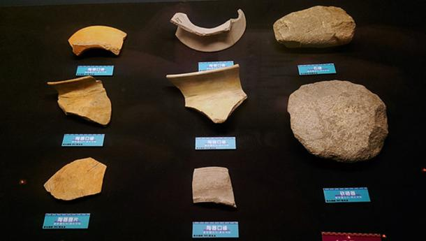 Unearthed cultural relics from Niumatou (Public Domain)