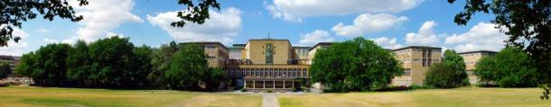 Panorama of the main building, University of Cologne