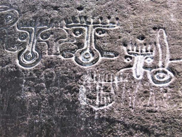 Ancient Shamanic Carvings. (©georgefery.com)