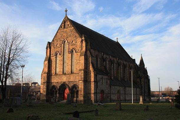 Govan Old Parish Church, Glasgow, Scotland. (CC BY-SA 4.0)