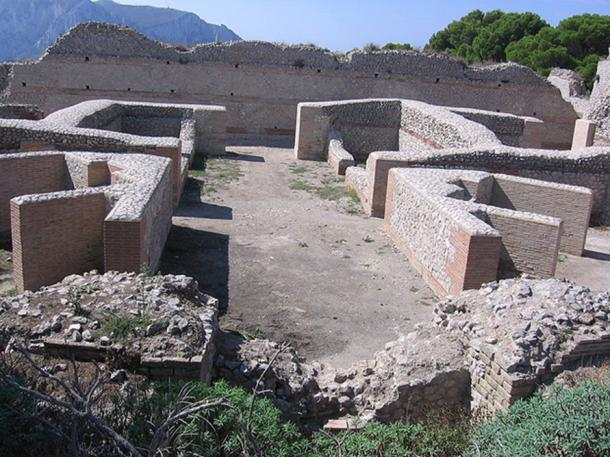 Ruins from the Villa Jovis on the island of Capri, where Tiberius spent much of his final years, leaving control of the empire in the hands of the prefect Lucius Aelius Sejanus. (Thomas Möllmann/CC BY SA 3.0)