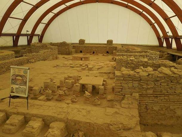 Part of the excavated Viminacium archaeological site. (CC BY-SA 4.0)