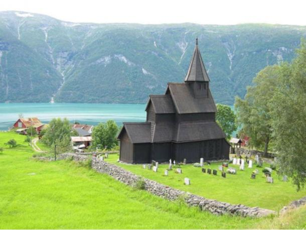 Urnes Stave Church, Urnes, Sweden, 12th century