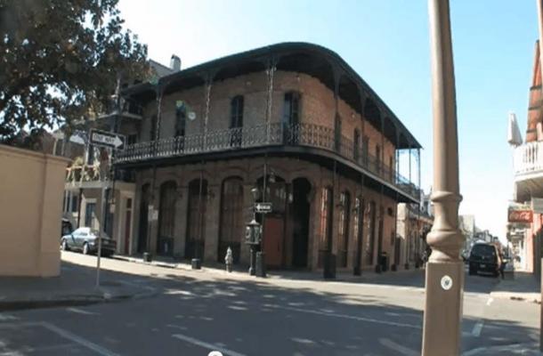Ursulines Ave & Royal St., New Orleans.