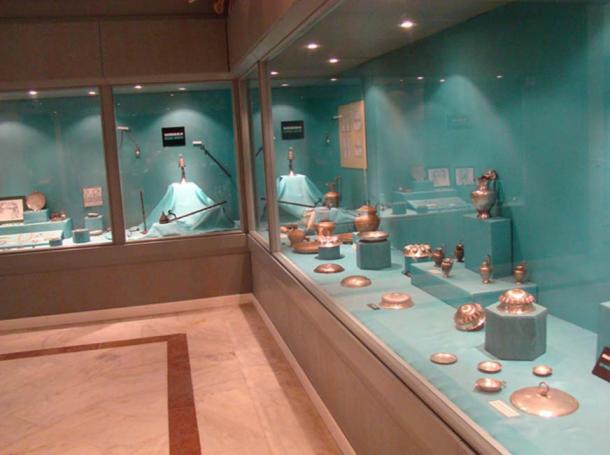 Uşak Museum, Lydian/Karun Treasure.