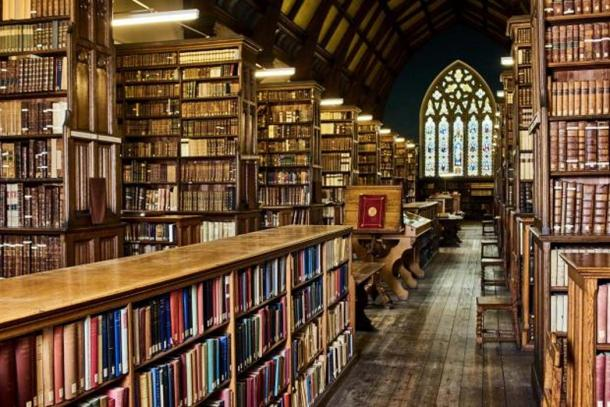 Ushaw College Library. (Ushaw College Library)