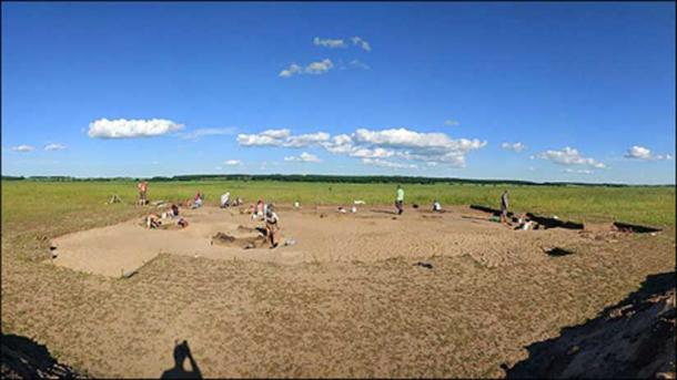 Ust-Ivanovka archeological site, the Far East of Russia. Picture: Denis Volkov