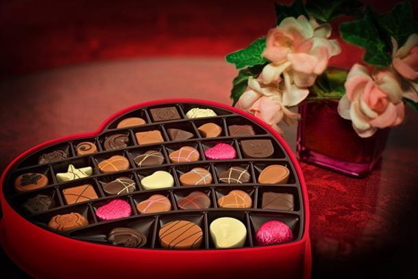 Valentine's Day chocolates. (CC0)
