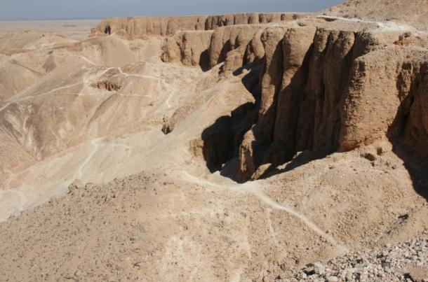 Egypt's famous Valley of the Kings.