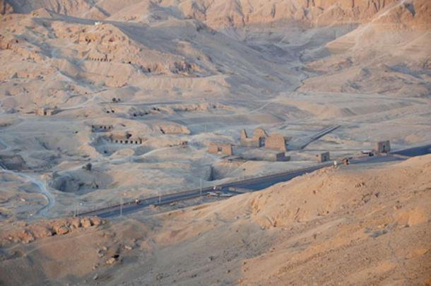 Valley of the Kings, Luxor, Egypt.