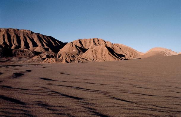 Valley of the Moon in the Atacama Desert
