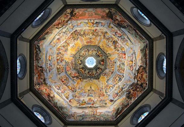 Vasari's fresco.