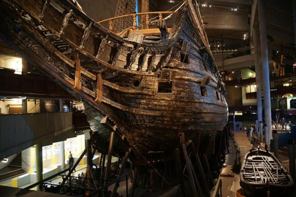 Vasa's Port Bow.