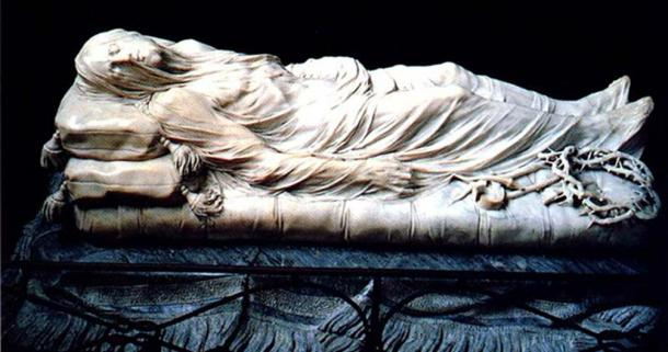 The Veiled Christ by Giuseppe Sanmartino (1753)