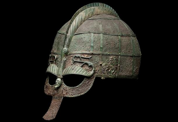 Example of a Vendel helmet
