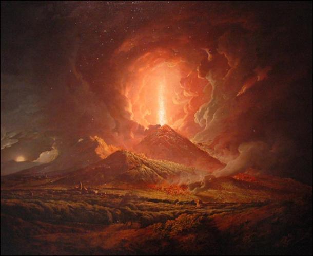 Vesuvius from Portici
