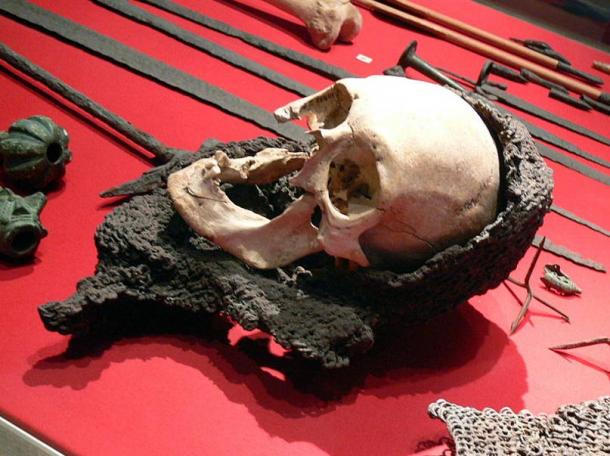 Victim of invasion of Visby in 1361.