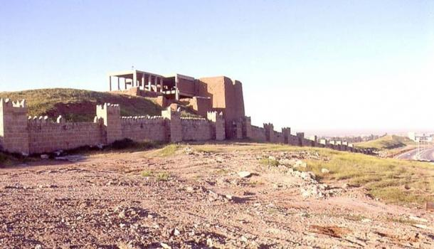 View of Adad Gate at Nineveh from the North.
