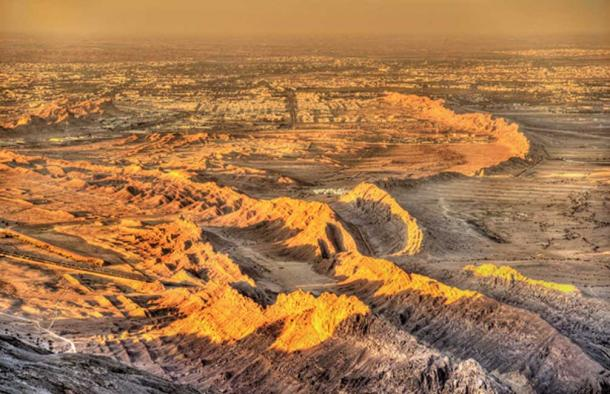 View of Al Ain from Jebel Hafeet mountain. (Leonid Andronov / Adobe)