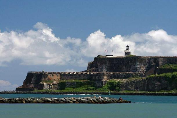View of El Morro (Castillo de San Felipe del Morro), San Juan