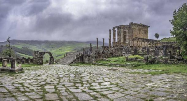 View of forum and temple in Roman town of Djemila (tynrud / Fotolia)