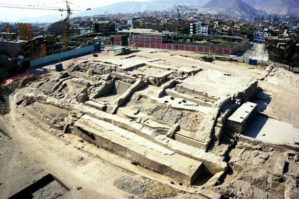 View of the Huaca Bellavista site.