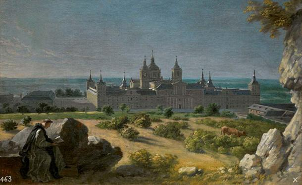 'View of the Monastery of El Escorial' (circa 1722) by Michel Ange Houasse . (Public Domain)