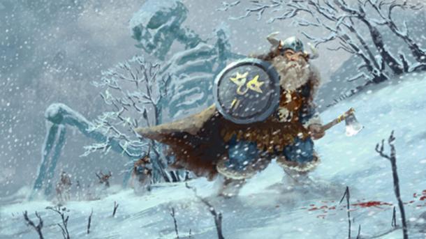 'Viking Across the Land of the Dead Giants.'