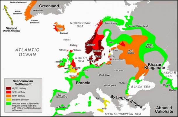 The Viking expansion to the northern seas