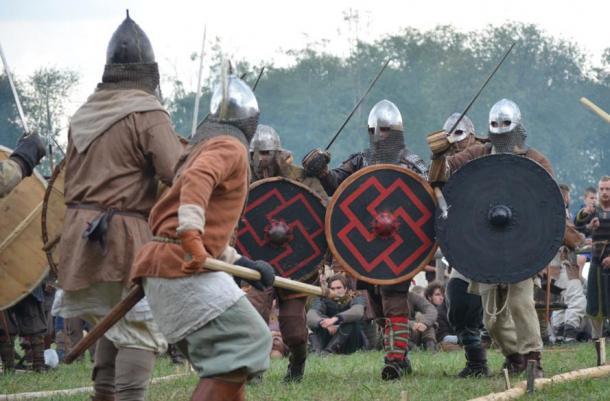 Viking re-enactment