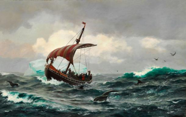 Viking ships were used for trade, raids and colonization.