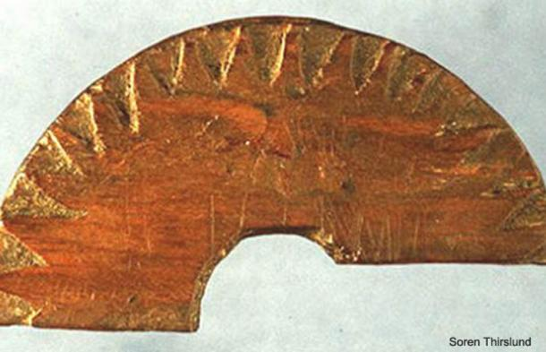 An example of a Viking sundial.