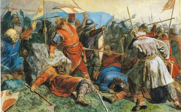 The bodies are believed to belong to Viking warriors, executed by Anglo Saxons