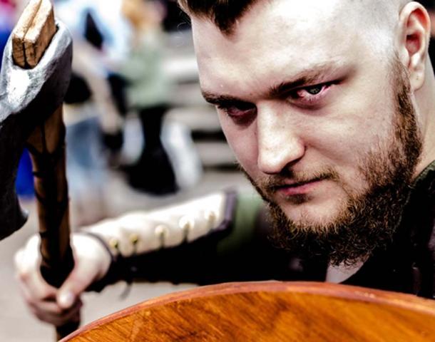 Vikings' King Ragnar Lothbrok. (Arvid Olsson / CC BY-SA 2.0)